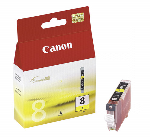 3 Canon CLI-8 Y yellow