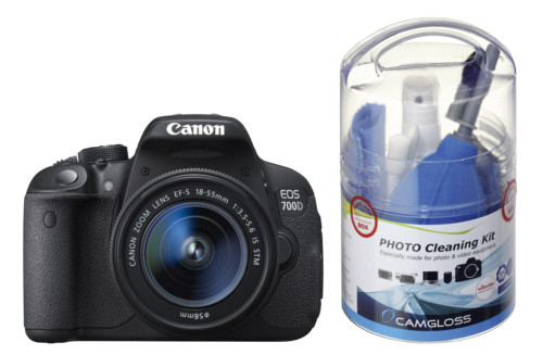 Canon EOS 700D Kit 18-55 IS Camgloss Foto Kit DTR828758