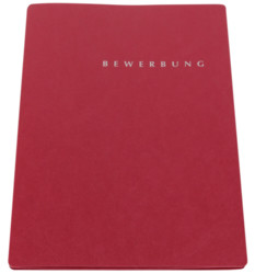 Pagna  Pagna Bewerbungsmappe Select rot P2200201