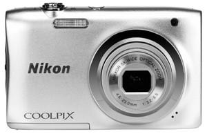 Iphone Entfernungsmesser Nikon : Nikon coolpix a100 silber vna970e1 im millionstore zum preis