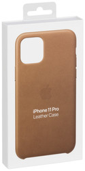 Apple  Apple iPhone 11 Pro Leather Case Saddle Brown MWYD2ZM/A