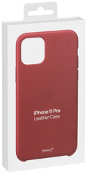 Apple  Apple iPhone 11 Pro Leather Case PRODUCT)RED MWYF2ZM/A