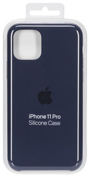 Apple  Apple iPhone 11 Pro Silicone Case Midnight Blue