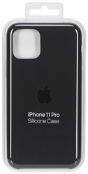 Apple  Apple iPhone 11 Pro Silicone Case Black MWYN2ZM/A