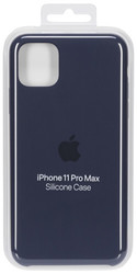 Apple  Apple iPhone 11 Pro Max Silicone Case Midnight Blue
