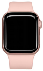 Apple  Apple Watch Series 5 GPS 44mm Gold Alu Case Pink Sport Band