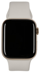 Apple  Apple Watch Series 5 GPS Cell 44mm Steel Case Gold Sport Band