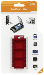 Gepe  Gepe Card Safe Mini rosso All in One 385303