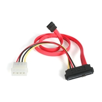 StarTech.com  18IN SAS 29 PIN TO SATA CABLE