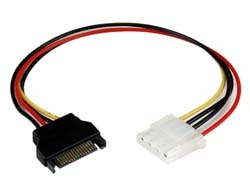 StarTech.com  12IN SATA TO LP4 POWER CABLE