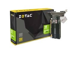ZOTAC  GEFORCE GT 710 ZONE EDITION 2G