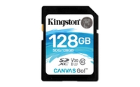 Kingston Technology  128GB MSDXC CANVAS GO 90R/45W