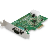 StarTech.com  1 PORT RS232 SERIAL PCIE CARD