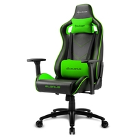 Sharkoon  ELBRUS 2 GAMING SEAT BK/GN