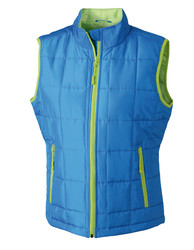 James+Nicholson  James+Nicholson Ladies Padded Light Weight Vest