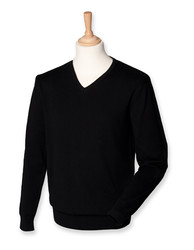 Henbury  Henbury Mens Lightweight V-Neck Jumper