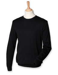 Henbury  Henbury Mens Lightweight Crew Neck Jumper
