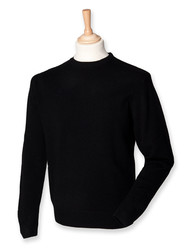 Henbury  Henbury Crew Neck Lambswool Jumper