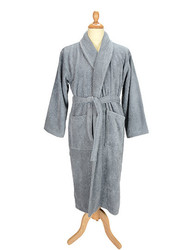 A&R  A&R Bathrobe Shawl Collar