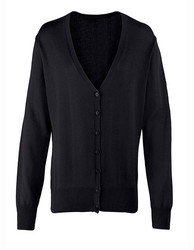 Premier Workwear  Premier Workwear Ladies Button Through Knitted Cardigan