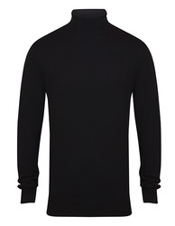 Henbury  Henbury Mens Roll Neck Jumper
