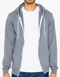 American Apparel  American Apparel Unisex Flex Fleece Zip Hooded Sweatshirt