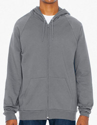 American Apparel  American Apparel Unisex California Fleece Zip Hooded Sweatshirt