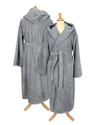 A&R  A&R Bathrobe with Hood