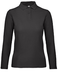 B&C  B&C Long Sleeve Polo ID.001 Women