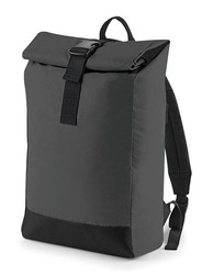 BagBase  BagBase Reflective Roll-Top Backpack