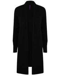 Henbury  Henbury Ladies Longline Open Cardigan
