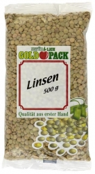 Goldpack  LINSEN 500G GOLDP (1 Packung)