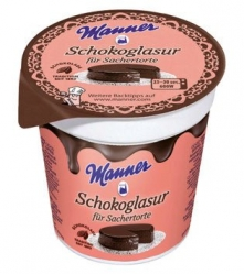 Manner  GLASUR SCHOKO 200G MAN (1 Stück)
