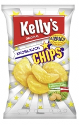 Kelly's  Chips Knoblauch 150g