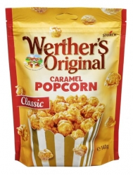 Werthers  Caramel Popcorn 140g