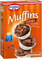 Dr.Oetker  BACKTEIGM.SCHOKO MUFFIN 335G OET (1 Packung)