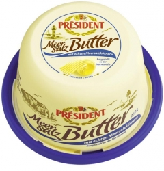 President  BUTTER MEERSALZ 250G PRES (1 Packung)