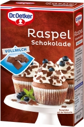 Dr.Oetker  RASPEL SCHOKO VOLLMILCH 100G OET (1 Packung)