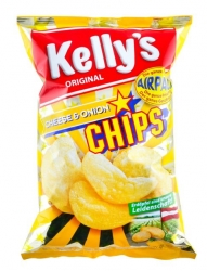 Kelly's  Chips Cheese & Onion 150g