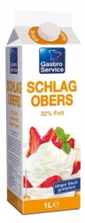 Tirol Milch  SCHLAGOBERS 32%F 1L TRLM (1 Packung)