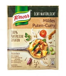 Knorr  BASIS ECHT NAT.PUTEN-CURRY KNR (1 Beutel)
