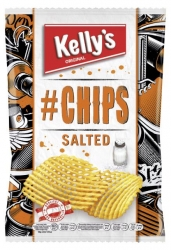 Kelly's  # Chips salted 90g