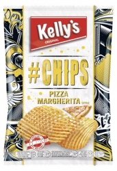 Kelly's  # Chips Pizza Margherita Style 90g