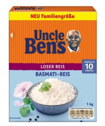 Uncle Ben's  BASMATIREIS 1KG BENS (1 Packung)