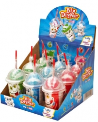 Sweet N Fun  Lollies Big Ice Dipper + Brause 57g (1 Stück)