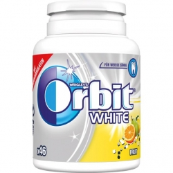 Orbit  Premium White Fruit 46Stk.
