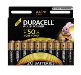 Duracell  Batterie Mignon Plus Power AA LR6 20Stk. Duracell (1 Packung)