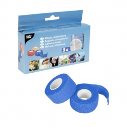 Papstar  PFLASTER SELBSTHAFT.5MX2,5CM BLAU (1 Packung)