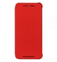 HTC  M8 ACE FLIP CASE RED