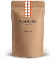 Naturkaffee, A-5301 Eugendorf INDIAN ESTATE ganze Bohne (1000g)